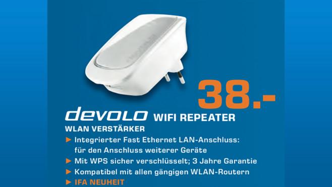 devolo dLAN WiFi Repeater ©Saturn
