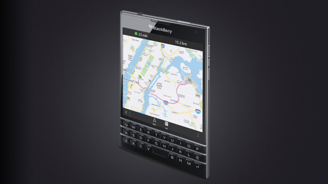 Blackberry Passport © Blackberry