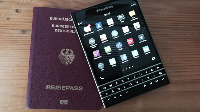 Blackberry Passport © COMPUTER BILD