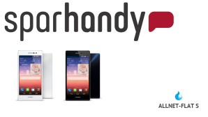 Tarif-Schn�ppchen: Allnet-Flat mit Top-Smartphone f�r 1 Euro ©Sparhandy, Huawei