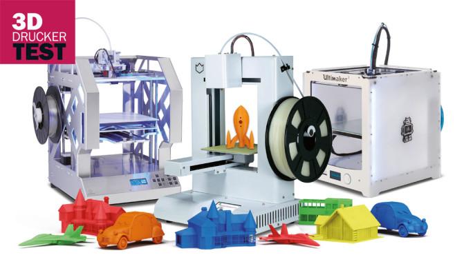 Vergleichstest: 3D-Drucker ©COMPUTER BILD