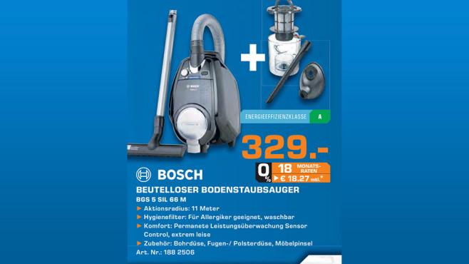 Bosch BGS5SIL Relaxx'x ProSilence ©Saturn