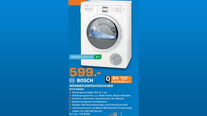 Bosch WTW86564 ©Saturn
