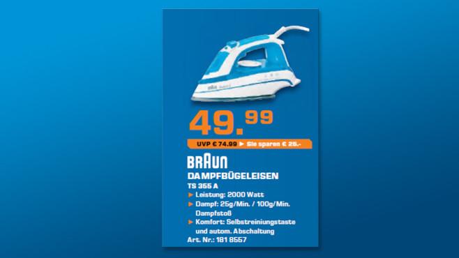 Braun TS355A ©Saturn