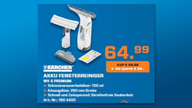 Kärcher WV 2 Premium ©Saturn