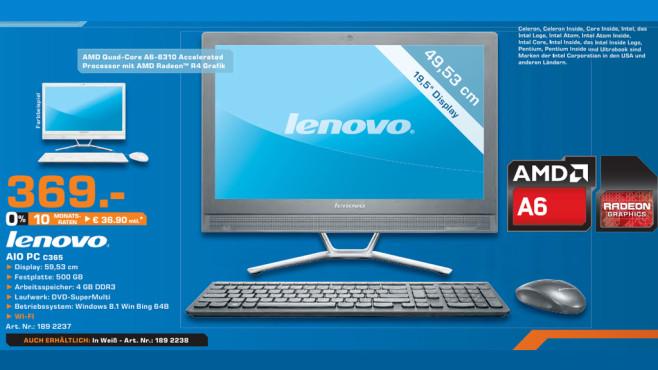 Lenovo C365 ©Saturn
