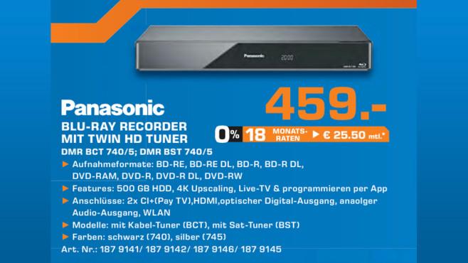 Panasonic DMR-BCT740EG ©Saturn