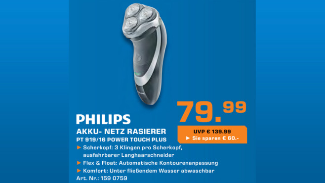 Philips PT919/16 PowerTouch © Saturn
