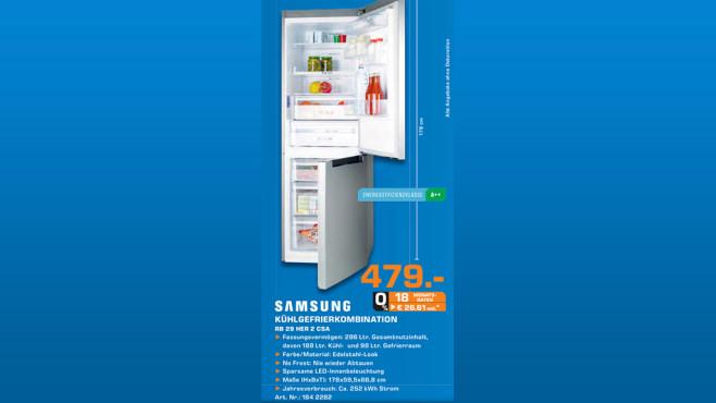 Samsung RB29HER2CSA ©Saturn