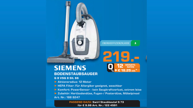Siemens VSQ8SIL66A ©Saturn