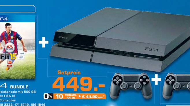 Sony PlayStation 4 Bundle © COMPUTER BILD