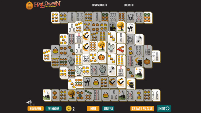 Halloween Mahjong: Legespiel mit düsteren Symbolen ©COMPUTER BILD