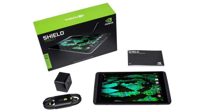 Nvidia Shield Tablet © Nvidia