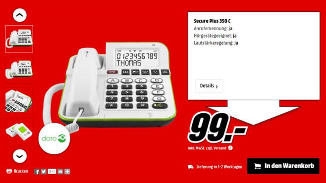 Doro Secure 350 ©Media Markt