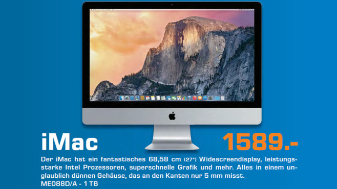 Apple iMac 27'' © Saturn