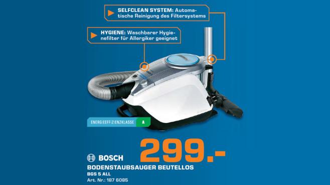 Bosch BGS5SIL66A Relaxx'x ProSilence ©Saturn