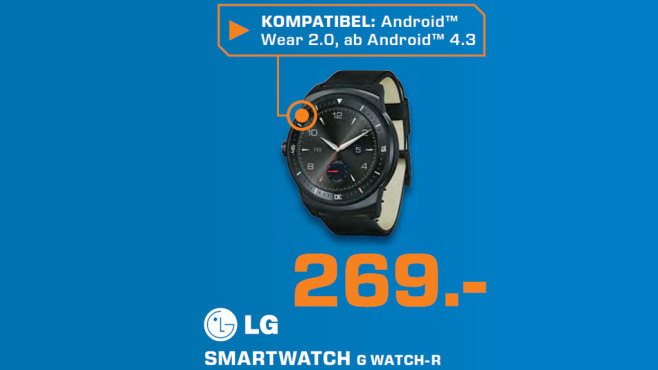 LG G Watch R © Saturn
