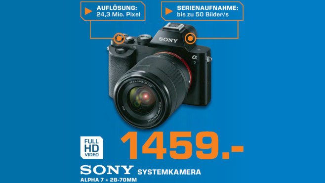 Sony Alpha 7 Kit 28-70 mm © Saturn
