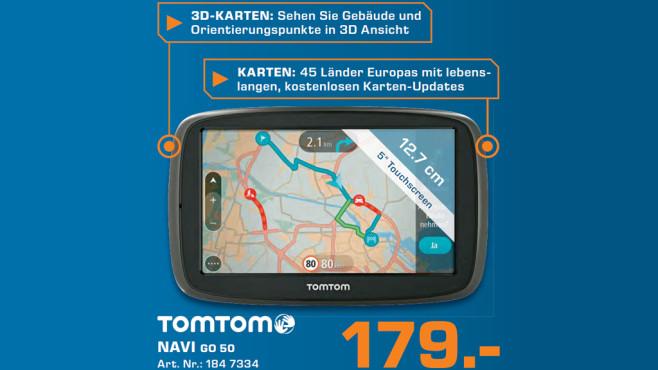TomTom Go 50 ©Saturn