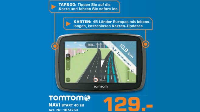 TomTom Start 40M EU © Saturn