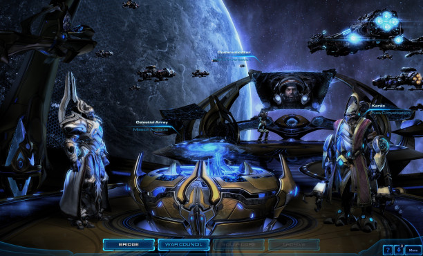 StarCraft 2 – Legacy of the Void: Brücke © Blizzard
