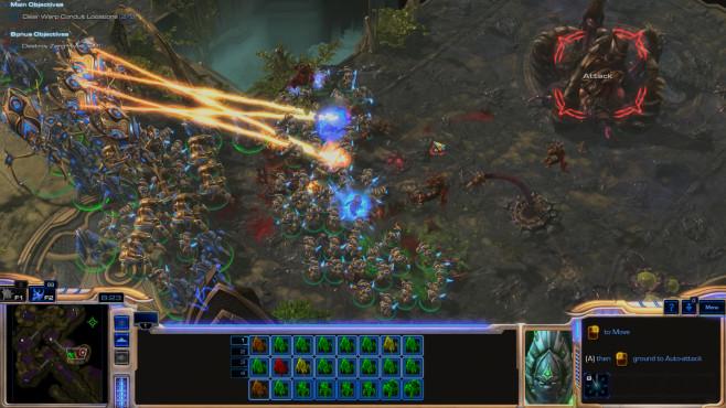 StarCraft 2 – Legacy of the Void: Orange ©Blizzard