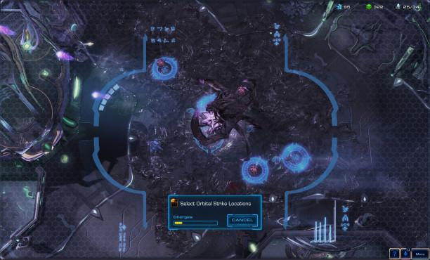 StarCraft 2 – Legacy of the Void: Orbit ©Blizzard