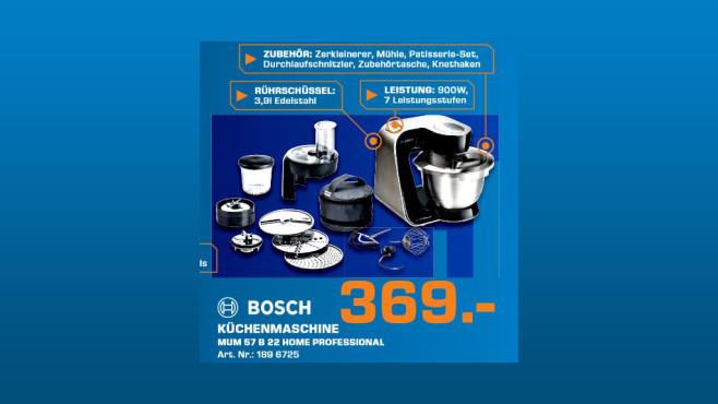 Bosch MUM 57B22 ©Saturn
