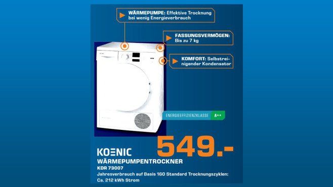 Koenic KDR 73007 ©Saturn