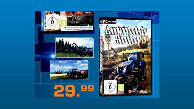 Landwirtschafts-Simulator 15 (PC) ©Saturn