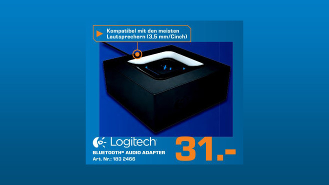 Logitech Bluetooth Audio Adapter © Saturn