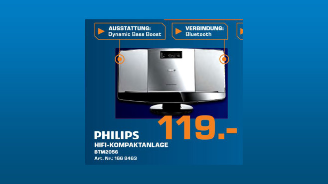 Philips BTM2056 © Saturn