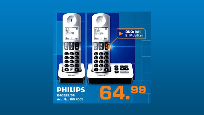Philips D405 Duo © Saturn