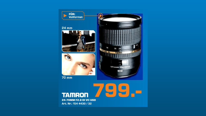 Tamron SP 24-70mm f2.8 Di VC USD © Saturn