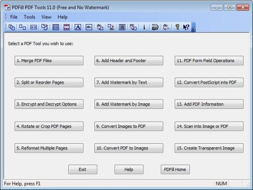 PDFill PDF Tools 11 ©COMPUTER BILD