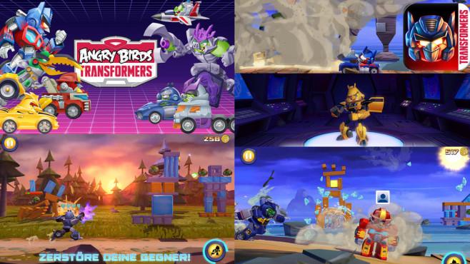 Angry Birds Transformers ©Rovio Mobile