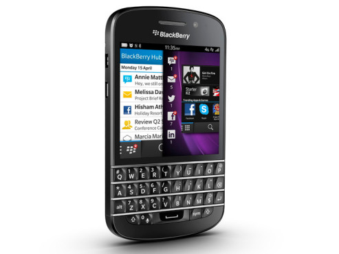 Blackberry Q10 © COMPUTER BILD