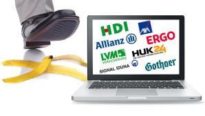 Versicherungsportale im Test ©Brian Jackson – Fotolia.com, Okea – Fotolia, Allianz, AXA, Gothaer, HDI, HUK24, Ergo, Signal Iduna, LVM