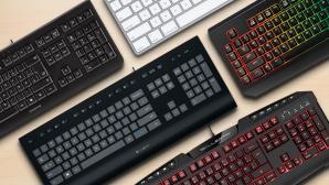 Diese Tastaturen sind gefragt ©Logitech, Apple, Cherry, Sharkoon, Razer