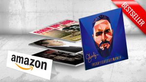 Musik-Downloads bei Amazon © Sony Music, Völker hört die Tonträger, Ariola, Roadrunner Records,Amazon, Fabian Schmidt - Fotolia.com