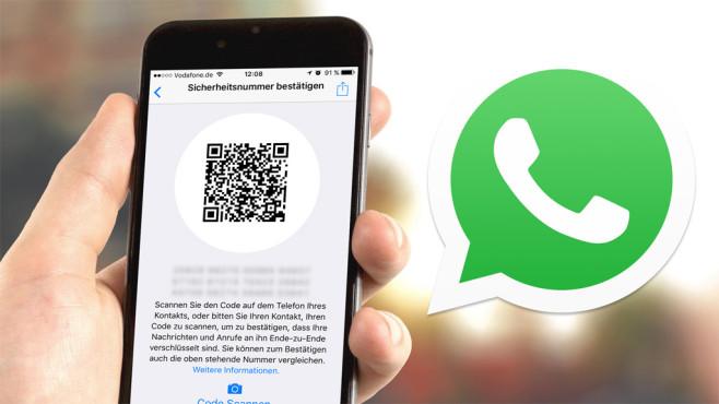 WhatsApp jetzt mit Ende-zu-Ende-Verschlüsselung ©WhatsApp, Firmbee