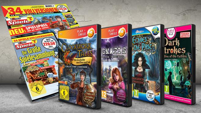 Die große Spielesammlung: Cover ©COMPUTER BILD SPIELE