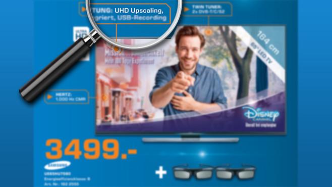UHD-Upscaling ©Saturn, Michael Nivelet - Fotolia.com