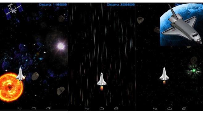 Space Shuttle Flight ©Droidspirit