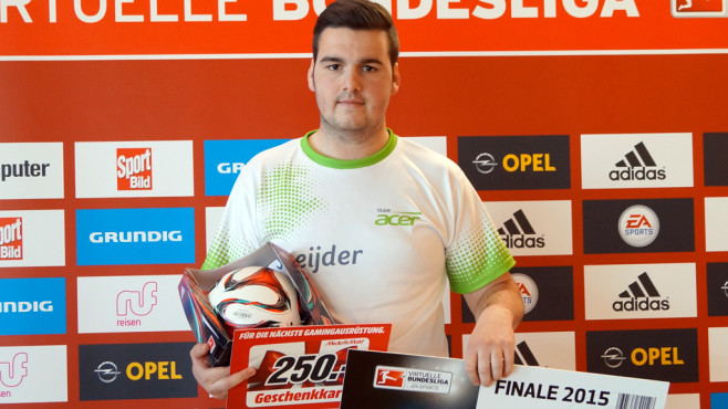 Virtuelle Bundesliga: Jan Zimmermann © EA