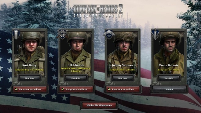 Company of Heroes 2 – Ardennes Assault © Sega
