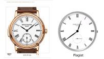 Dreiste Ziffernblatt-Plagiate auf Smartwatches ©Patek Philippe, COMPUTER BILD, Think Studios