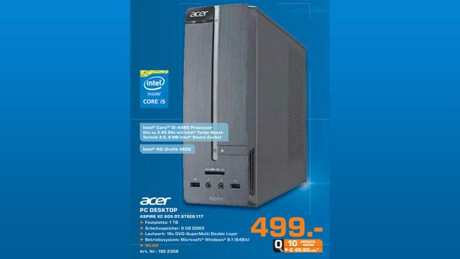 Acer Aspire XC605 ©Saturn