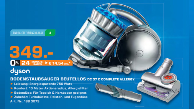 Dyson DC 37c Complete Allergy © Saturn
