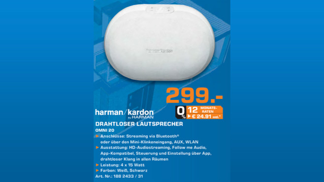 Harman-Kardon Omni 20 ©Saturn